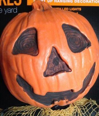 NEW Pumpkin Hanging Skeleton Halloween Decoration 36