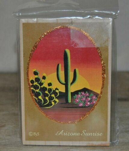Arizona Sunrise Plaque From Arizona, Hand Craft, - Excellent condition