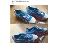 LED trainers,size 7 (new)