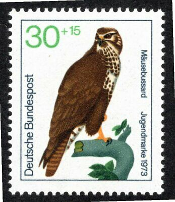 Germany -West, 1973, Common Buzzard, Buteo buteo, mnh.
