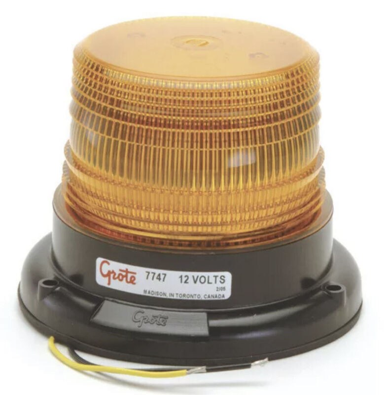Grote 77473 SAE Class III LED Strobe (Permanent Mount)