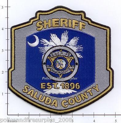 South Carolina - Saluda County Sheriff SC Police Dept Patch
