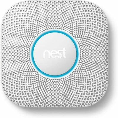 Nest Protect S3003LWES Wired Carbon Monoxide Smoke Detector