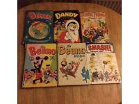 REDUCED Beano/Dandy/Beezer/Smash/School Friend retro 60s annuals