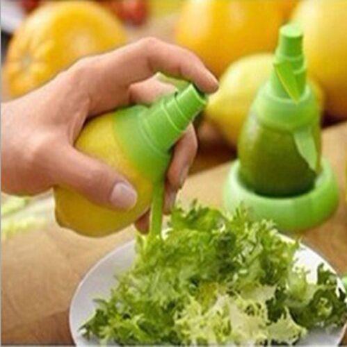 Kitchen Gadget 2pcs Lemon Orange Juice Manual Spray Fruit Juicer Sprayer Set IFA