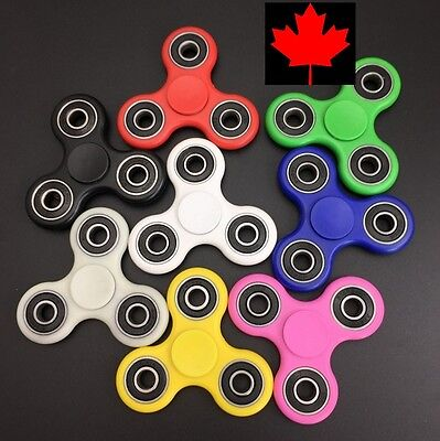 Fidget Spinner - EDC Stress Relief Focus Fun Hand Toy- Choice of 8 Colours