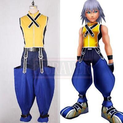 NEW Kingdom Hearts Riku Halloween Cosplay Costume NN.602](Riku Halloween Costume)