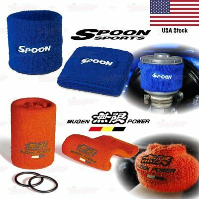 MUGEN SPOON Sport Brake Clutch Reservoir Oil Cap Tank Cover Sock for ACURA - Brake Clutch Reservoir Cap