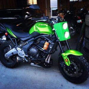 2009 Kawasaki Versys dual sport/ touring