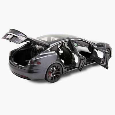 Tesla Diecast 1:18 Scale Model S P100D, Silver