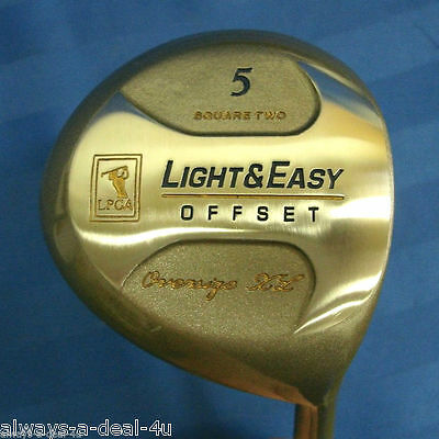 Lpga Light   Easy 5 Wood Offset Oversize Xl Ladies Petite Golf Club