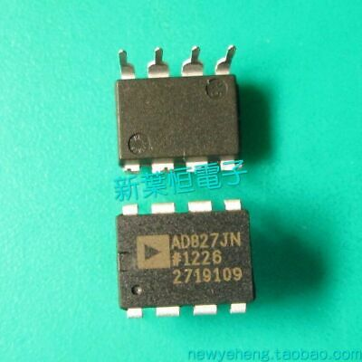 1pcs Low Power Dual Op Amp Ic Analog Devices Dip-8 Ad827jn Ad827jnz