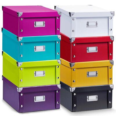 Aufbewahrungsbox Pappkarton Pappschachtel Kiste Allzweckkiste Pappkiste Box