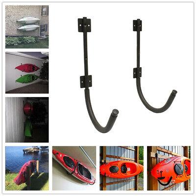 200 Lbs Steel Storage Wall Hanger Hook Rack Shelf 1 Pack Pair Kayak Canoe SUP