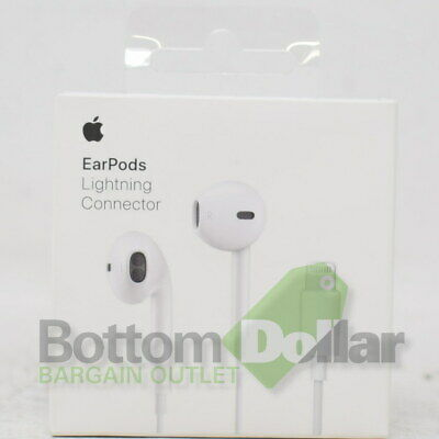 Apple Authentic iPhone X 8 7/7+ EarPods Genuine Headphones W/Lightning Connector comprar usado  Enviando para Brazil