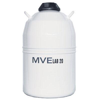 Chart Mve Lab 20 Liquid Nitrogen Cryogenic Storage Dewar Flask 20 Liter