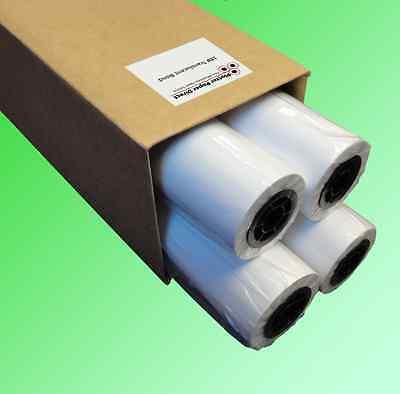 4 Rolls 30 X 150 18lb Translucent Bond Paper For Wide Format Inkjet Printers