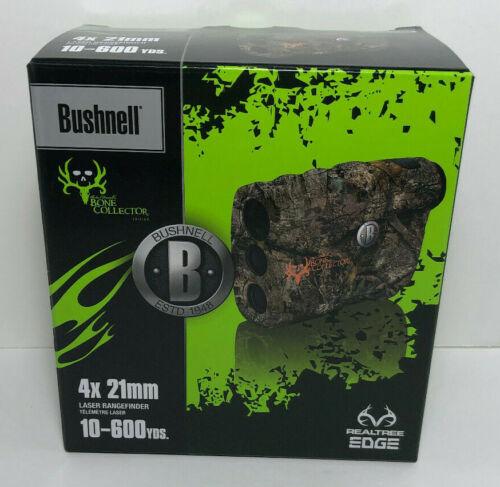 Bushnell 4x21mm Laser Rangefinder, Bone Collector, Realtree Edge, Model 202208