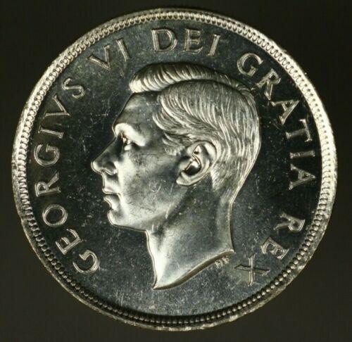 Canada Silver Dollar 1949    BU     A1365