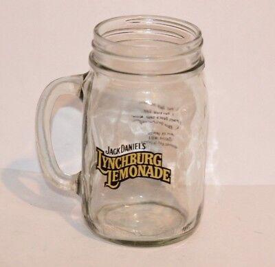 JACK DANIELS LYNCHBURG LEMONADE MASON JAR WHISKEY RECIPE DRINK GLASS BARWARE