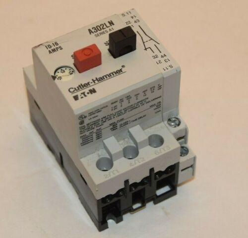 CUTLER HAMMER / EATON A302LN Series A1 10-16A Motor Starter