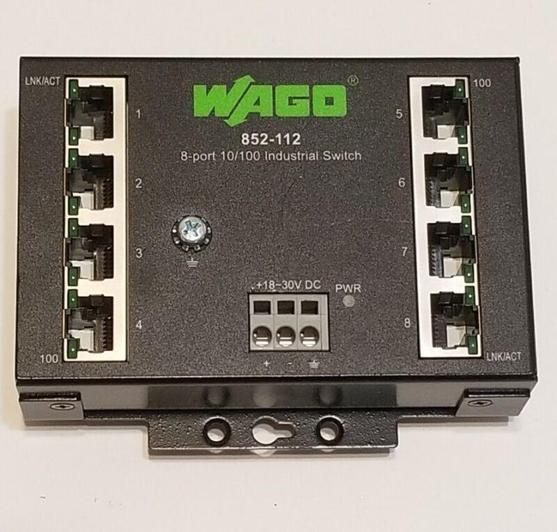 Wago 852-112 8-Port ethernet switch