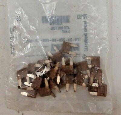 25 Pk Atm Mini Fuse 5 Amp