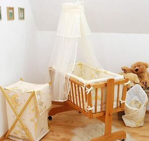 Moses basket drapes newborn cots ebay for Drape stand for crib