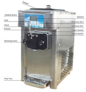 Used Single Flavor 12L/H Soft Ice Cream machine Frozen Yogurt Machine210073