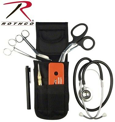 Emt Ems Emergency Response First Aid Holster Set With Stethoscope Rothco 3127