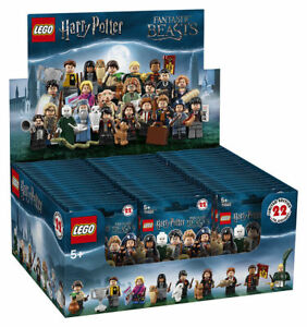Lego Harry Potter Collectible Series Sealed Box Case of 60 Minifigures 71022