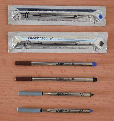 Lamy Minen M16,M22, M63, M66 blau oder schwarz für Kugelschreiber & Tintenroller ()