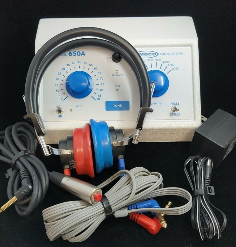 Ambco 650A Hearing Test Audiometer Very Nice Pre-owned Working Condition
