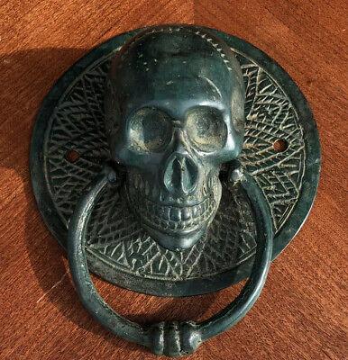Skull Door Handle Bronze Or Towel Holder Grade A Bronze