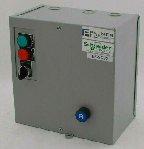 Palmer Square D S0-XA-18A-G27H-PM-SX8 Full Voltage Starter
