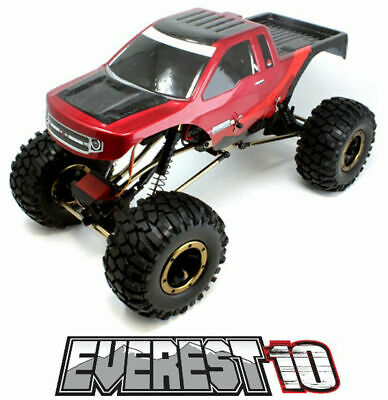 Redcat Racing Everest 10 1:10 Scale Rock Crawler Electric Brushed RC Truck *Red