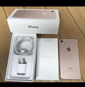 Mint-Rose Gold iPhone 7, 32Gb and_factory unlocked