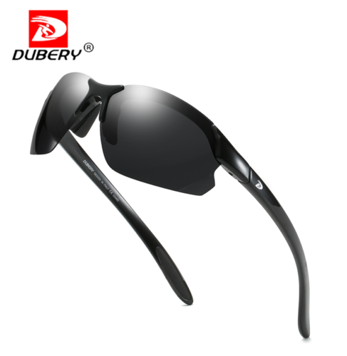 DUBERY Men Polarized Sports Sunglasses UV400 Outdoor Cycling