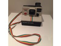 Beautiful Iconic Polaroid SX-70 Original from 1970s