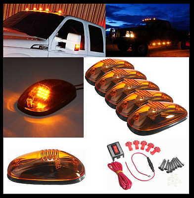 """orange"" LED Dachleuchten Set  Dodge Ram 1500 2500 Ford F150 F250  Raptor Blazer"