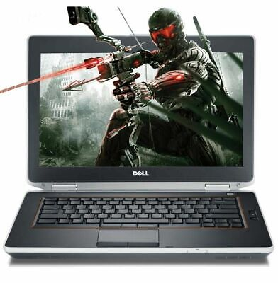 Dell Gaming Laptop i5 2.7Ghz 8GB 500gb hdmi DVD Cheap Computer PC Windows 10