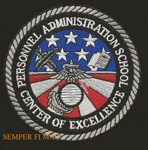US-MARINES-PERSONNEL-ADMINISTRATION-SCHOOL-PATCH-ADMIN-CAMP-LEJEUNE-MOS-0100-WOW