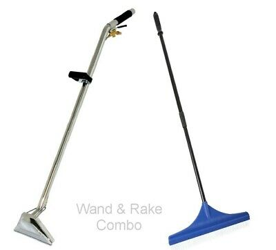 Carpet Cleaning Wand And Rake Combo