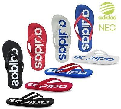 adidas Neo Mens Summer Footwear Flip Flops Mix Sizes *NEW