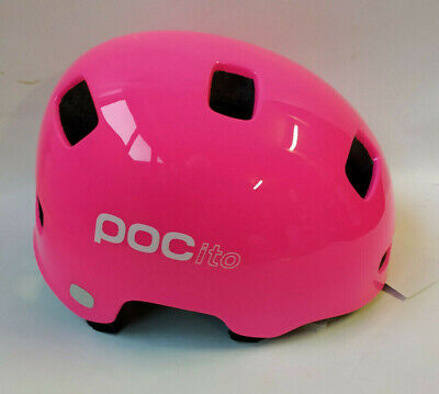 POC Kids Cito Crane Fluorescent Pink MTB Helm Bike Helm Gr. M/L...