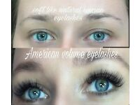 Eyelashes extension Russian volume, American , individual, mink,silk