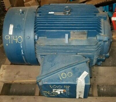 Siemens 100 Hp Electric Ac Motor 460 Vac 1780 Rpm 405t Frame 3 Phase Rgzeesd