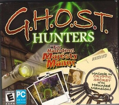 Computer Games - G.H.O.S.T. Hunters The Haunting of Majesty Manor PC Games Window 10 8 7 Computer