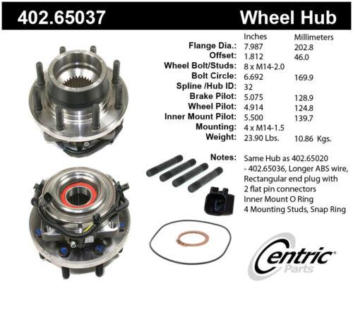 Motorcraft HUB-139 Wheel Hub Assembly