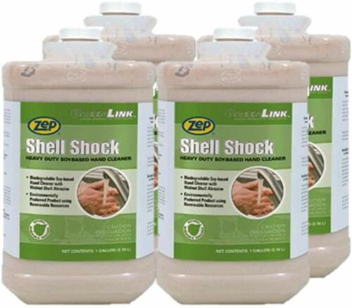 Zep Shell Shock Walnut-Based Pro Hand Cleaner 84923 1 Gal(Case of 4) Pro Trusted
